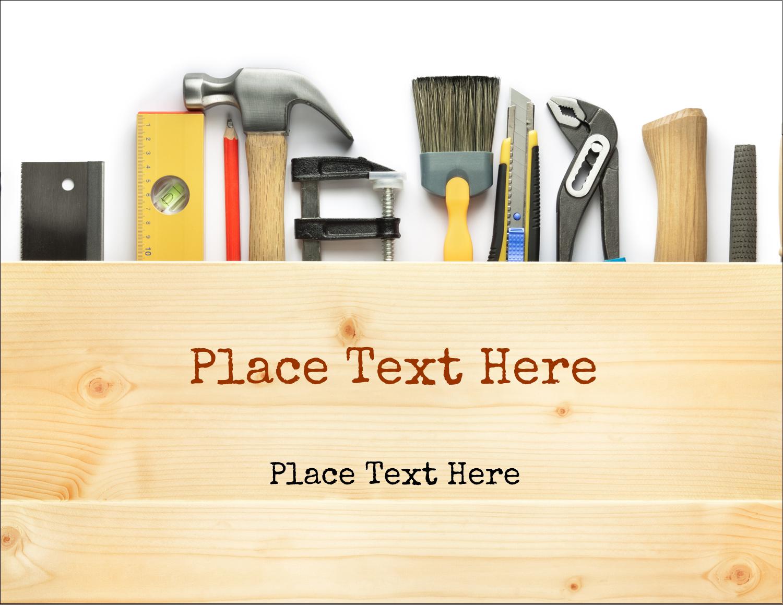 "5½"" x 4¼"" Postcard - Carpentry"