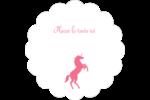 Château Étiquettes festonnées - gabarit prédéfini. <br/>Utilisez notre logiciel Avery Design & Print Online pour personnaliser facilement la conception.