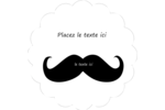 Bring old-time charm to custom projects with pre-designed Candy Mustache templates.