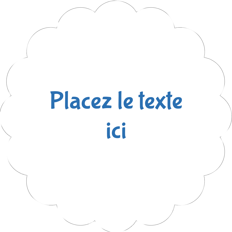 """½"""" x 1¾"""" Étiquettes D'Adresse - 4e étage"""
