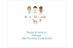 Éducation et préscolaire Étiquettes d'expédition - gabarit prédéfini. <br/>Utilisez notre logiciel Avery Design & Print Online pour personnaliser facilement la conception.