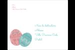 Tartan de Pâques Étiquettes d'expédition - gabarit prédéfini. <br/>Utilisez notre logiciel Avery Design & Print Online pour personnaliser facilement la conception.