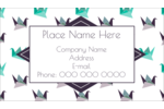 Personalize your projects with pre-designed Origami Crane templates.