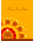 Enhance custom projects with the ornate radiance of pre-designed Diwali Flower templates.