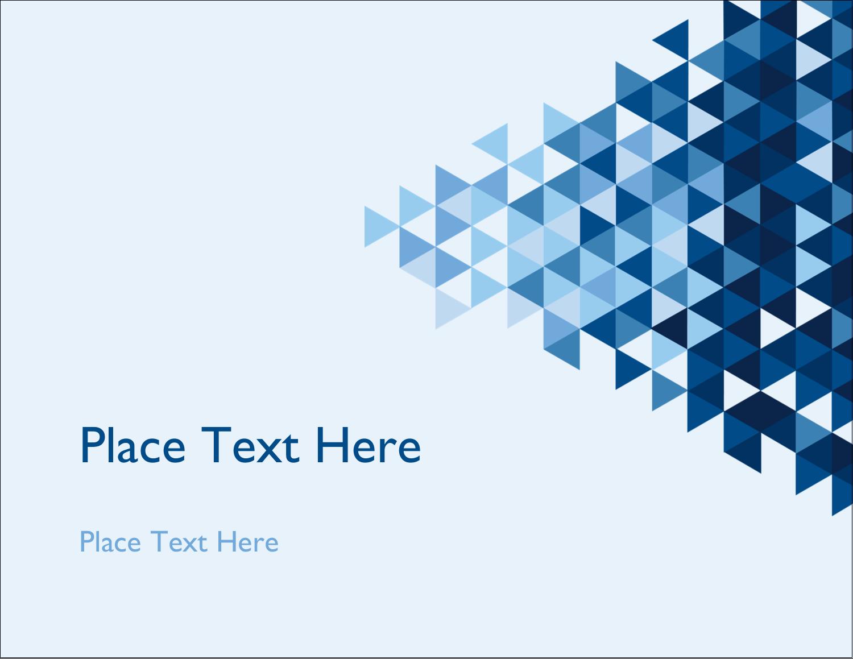 "5½"" x 4¼"" Postcard - Blue Angles"