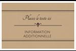 Grand chic Cartes Et Articles D'Artisanat Imprimables - gabarit prédéfini. <br/>Utilisez notre logiciel Avery Design & Print Online pour personnaliser facilement la conception.