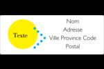 Traitement couleur Étiquettes d'adresse - gabarit prédéfini. <br/>Utilisez notre logiciel Avery Design & Print Online pour personnaliser facilement la conception.