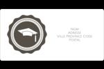 Mortier de diplômé Étiquettes de classement écologiques - gabarit prédéfini. <br/>Utilisez notre logiciel Avery Design & Print Online pour personnaliser facilement la conception.