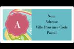 Cachemire Étiquettes de classement écologiques - gabarit prédéfini. <br/>Utilisez notre logiciel Avery Design & Print Online pour personnaliser facilement la conception.