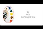 Palette de peinture Étiquettes de classement écologiques - gabarit prédéfini. <br/>Utilisez notre logiciel Avery Design & Print Online pour personnaliser facilement la conception.
