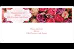 Bouquet de roses Étiquettes de classement écologiques - gabarit prédéfini. <br/>Utilisez notre logiciel Avery Design & Print Online pour personnaliser facilement la conception.