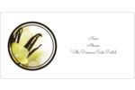 Fleur de vanille Étiquettes de classement écologiques - gabarit prédéfini. <br/>Utilisez notre logiciel Avery Design & Print Online pour personnaliser facilement la conception.