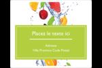 Fruits frais Étiquettes D'Adresse - gabarit prédéfini. <br/>Utilisez notre logiciel Avery Design & Print Online pour personnaliser facilement la conception.