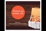 Livraison de pizza Étiquettes D'Adresse - gabarit prédéfini. <br/>Utilisez notre logiciel Avery Design & Print Online pour personnaliser facilement la conception.