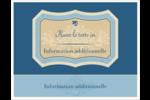 Art nouveau Cartes Et Articles D'Artisanat Imprimables - gabarit prédéfini. <br/>Utilisez notre logiciel Avery Design & Print Online pour personnaliser facilement la conception.