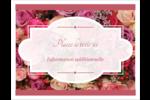 Bouquet de roses Cartes Et Articles D'Artisanat Imprimables - gabarit prédéfini. <br/>Utilisez notre logiciel Avery Design & Print Online pour personnaliser facilement la conception.