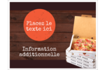 Livraison de pizza Cartes Et Articles D'Artisanat Imprimables - gabarit prédéfini. <br/>Utilisez notre logiciel Avery Design & Print Online pour personnaliser facilement la conception.