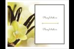 Fleur de vanille Cartes Et Articles D'Artisanat Imprimables - gabarit prédéfini. <br/>Utilisez notre logiciel Avery Design & Print Online pour personnaliser facilement la conception.