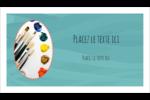 Palette de peinture Carte d'affaire - gabarit prédéfini. <br/>Utilisez notre logiciel Avery Design & Print Online pour personnaliser facilement la conception.