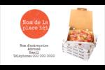 Livraison de pizza Carte d'affaire - gabarit prédéfini. <br/>Utilisez notre logiciel Avery Design & Print Online pour personnaliser facilement la conception.