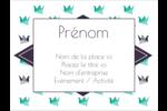Grue en origami Badges - gabarit prédéfini. <br/>Utilisez notre logiciel Avery Design & Print Online pour personnaliser facilement la conception.