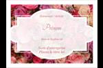 Bouquet de roses Badges - gabarit prédéfini. <br/>Utilisez notre logiciel Avery Design & Print Online pour personnaliser facilement la conception.