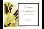 Fleur de vanille Badges - gabarit prédéfini. <br/>Utilisez notre logiciel Avery Design & Print Online pour personnaliser facilement la conception.