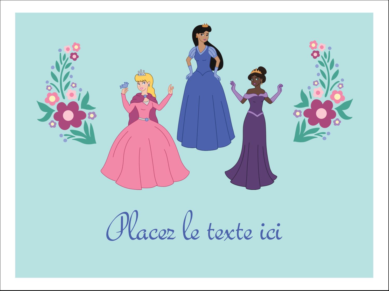 "3"" x 4"" Badges - Princesses"