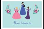Princesses Étiquettes à codage couleur - gabarit prédéfini. <br/>Utilisez notre logiciel Avery Design & Print Online pour personnaliser facilement la conception.
