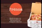 Livraison de pizza Étiquettes à codage couleur - gabarit prédéfini. <br/>Utilisez notre logiciel Avery Design & Print Online pour personnaliser facilement la conception.