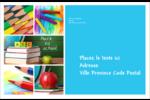 Rentrée des classes Étiquettes d'adresse - gabarit prédéfini. <br/>Utilisez notre logiciel Avery Design & Print Online pour personnaliser facilement la conception.