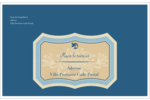 Art nouveau Étiquettes d'adresse - gabarit prédéfini. <br/>Utilisez notre logiciel Avery Design & Print Online pour personnaliser facilement la conception.