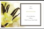 Fleur de vanille Étiquettes d'adresse - gabarit prédéfini. <br/>Utilisez notre logiciel Avery Design & Print Online pour personnaliser facilement la conception.
