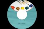 Palette de peinture Étiquettes de classement - gabarit prédéfini. <br/>Utilisez notre logiciel Avery Design & Print Online pour personnaliser facilement la conception.