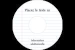 Feuille mobile Étiquettes de classement - gabarit prédéfini. <br/>Utilisez notre logiciel Avery Design & Print Online pour personnaliser facilement la conception.