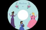 Princesses Étiquettes de classement - gabarit prédéfini. <br/>Utilisez notre logiciel Avery Design & Print Online pour personnaliser facilement la conception.