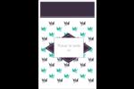 Grue en origami Reliures - gabarit prédéfini. <br/>Utilisez notre logiciel Avery Design & Print Online pour personnaliser facilement la conception.