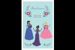 Princesses Reliures - gabarit prédéfini. <br/>Utilisez notre logiciel Avery Design & Print Online pour personnaliser facilement la conception.