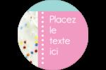 Planificateur de fêtes Étiquettes Voyantes - gabarit prédéfini. <br/>Utilisez notre logiciel Avery Design & Print Online pour personnaliser facilement la conception.