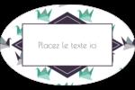 Grue en origami Étiquettes carrées - gabarit prédéfini. <br/>Utilisez notre logiciel Avery Design & Print Online pour personnaliser facilement la conception.