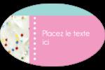 Planificateur de fêtes Étiquettes carrées - gabarit prédéfini. <br/>Utilisez notre logiciel Avery Design & Print Online pour personnaliser facilement la conception.