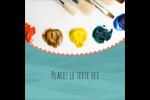 Palette de peinture Étiquettes enveloppantes - gabarit prédéfini. <br/>Utilisez notre logiciel Avery Design & Print Online pour personnaliser facilement la conception.