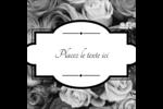 Bouquet de roses Étiquettes enveloppantes - gabarit prédéfini. <br/>Utilisez notre logiciel Avery Design & Print Online pour personnaliser facilement la conception.