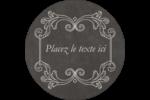 Affiche de style pâtisserie Étiquettes arrondies - gabarit prédéfini. <br/>Utilisez notre logiciel Avery Design & Print Online pour personnaliser facilement la conception.