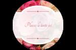 Bouquet de roses Étiquettes de classement - gabarit prédéfini. <br/>Utilisez notre logiciel Avery Design & Print Online pour personnaliser facilement la conception.