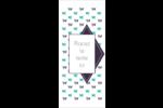 Grue en origami Cartes Pour Le Bureau - gabarit prédéfini. <br/>Utilisez notre logiciel Avery Design & Print Online pour personnaliser facilement la conception.