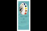 Palette de peinture Cartes Pour Le Bureau - gabarit prédéfini. <br/>Utilisez notre logiciel Avery Design & Print Online pour personnaliser facilement la conception.