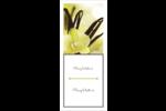 Fleur de vanille Cartes Pour Le Bureau - gabarit prédéfini. <br/>Utilisez notre logiciel Avery Design & Print Online pour personnaliser facilement la conception.