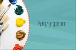 Palette de peinture Étiquettes rectangulaires - gabarit prédéfini. <br/>Utilisez notre logiciel Avery Design & Print Online pour personnaliser facilement la conception.