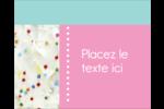 Planificateur de fêtes Étiquettes rondes gaufrées - gabarit prédéfini. <br/>Utilisez notre logiciel Avery Design & Print Online pour personnaliser facilement la conception.